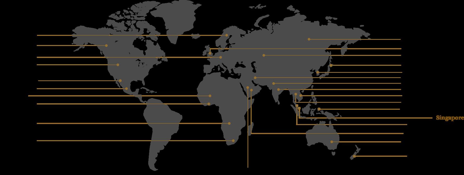 Kuhlmann International Sales Network